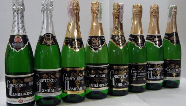В Киеве переименовали «Советское шампанское»