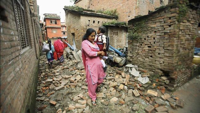 Землетрясение на востоке Индии – есть погибшие