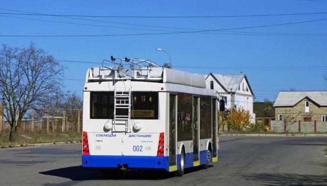 В Симферополе парализовано движение общественного транспорта