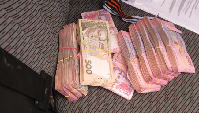 На пункте «Зайцево» задержан украинец с большой суммой денег