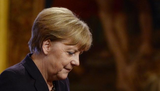 Из-за подозрительной посылки закрыт кабинет Меркель