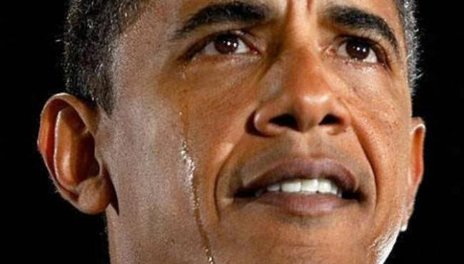 Президент Обама расплакался во время своей речи