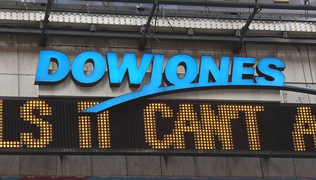 В США обвал индекса Dow Jones