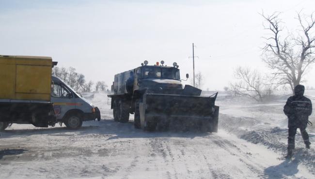 Местные власти могут рассчитывать на помощь Киева при чистке дорог