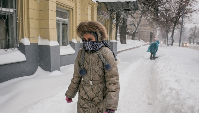 Гидрометцентр прогнозирует сильнейшие снегопады