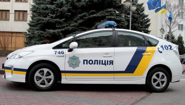 Киевский патруль задержал краденое авто
