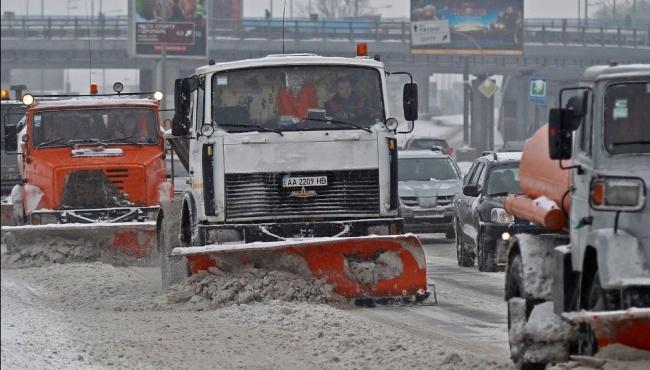 В Киеве ограничивают проезд крупногабаритного транспорта