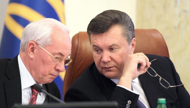 Азаров и Янукович лишились своих пенсий