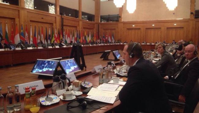 О чем говорил Министр Павленко на Глобальном форуме в Берлине