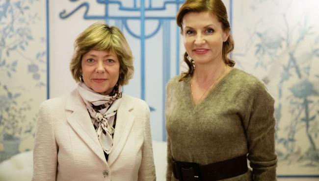 Марина Порошенко встретилась с Даниэлой Шадт