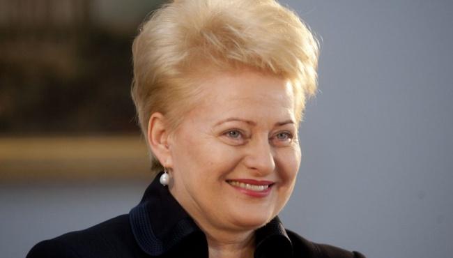 Грибаускайте: безвизовый режим Украина получит не раньше, чем в конце года