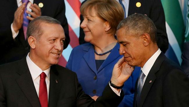 Эрдоган пообещал Обаме уничтожить «ИГИЛ»