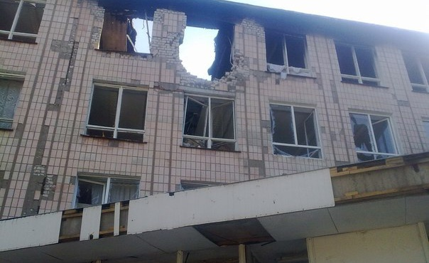 В поселке Луганское уничтоженная боевиками школа станет лучшей в Донецкой области