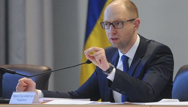 Яценюк: Время дать результаты борьбы с коррупцией