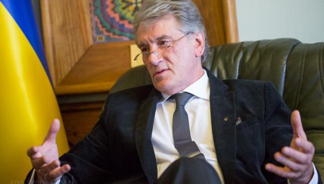 Ющенко: при здоровой финансовой политике гривна укрепится