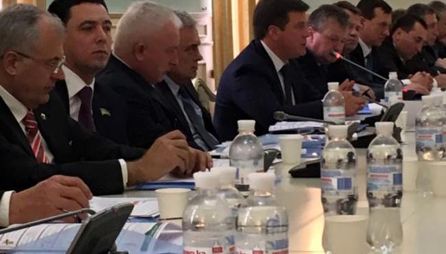Зубко: Обсудили изменения в налогообложении с главами городов
