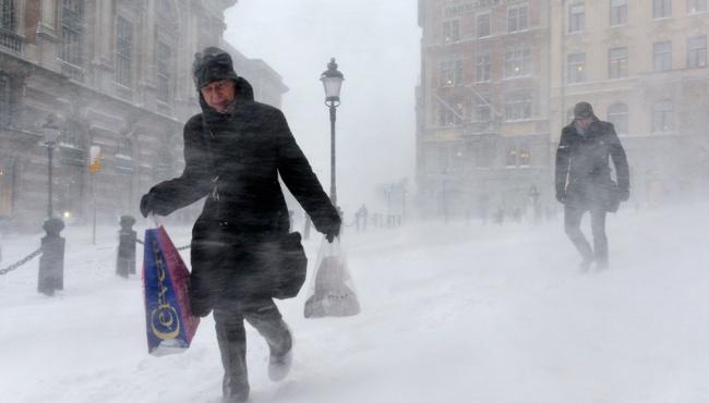 На Украину надвигаются 25-градусные морозы