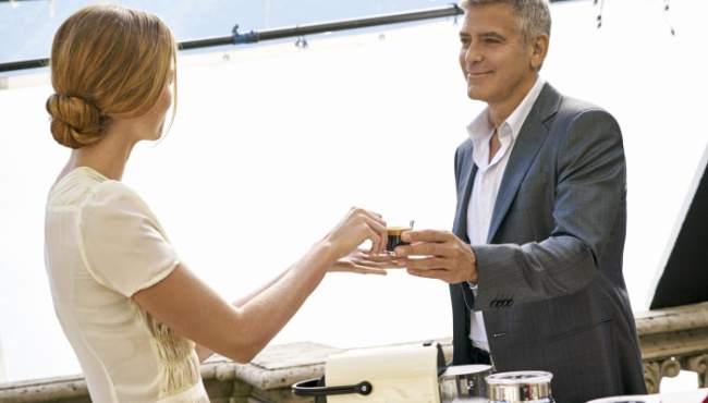 Между кофейными магнатами скандал из-за поддельного Джорджа Клуни