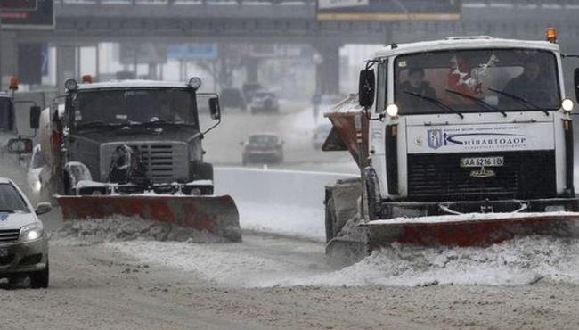 В Киеве и других городах Украины штормовое предупреждение