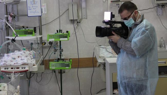 В детское отделение больницы Амосова передали дорогое медицинское оборудование