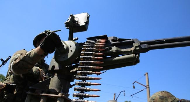 Возле Зайцево боевики обстреляли укрепления украинских военных
