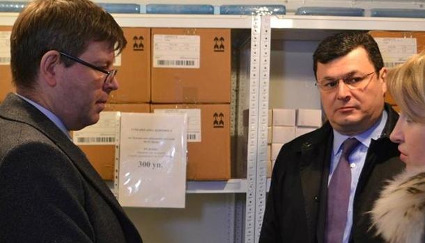 Украина получила от Литвы лекарства в качестве гуманитарной помощи