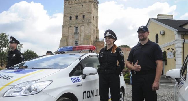 В Луцке патрульные задержали офицера Нацгвардии с друзьями за дебош