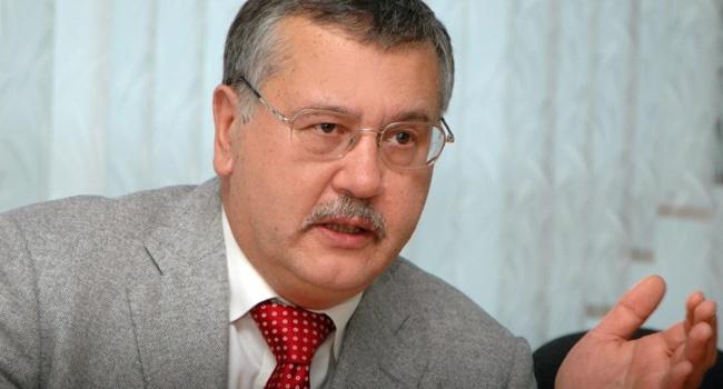 Волошков: Гриценко не хочет в тюрьму, поэтому он хочет перевыборы