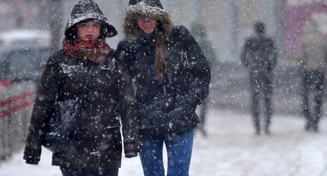 В четверг по всей Украине дождь и мокрый снег