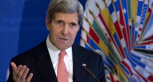 Керри: Россия должна прекратить операцию в Сирии