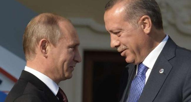 Путин открестился от переговоров с Эрдоганом