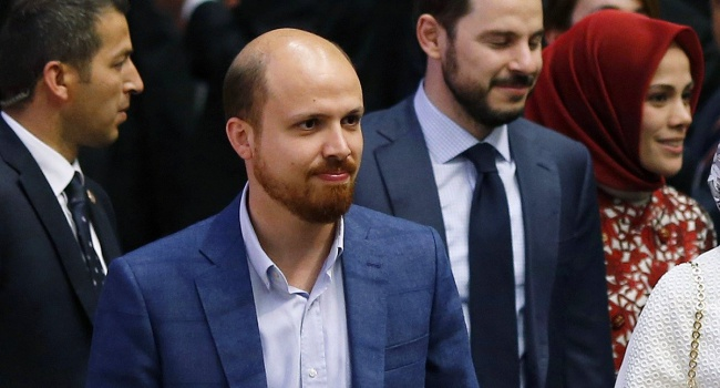 Италия заподозрила сына Эрдогана в финансовых махинациях