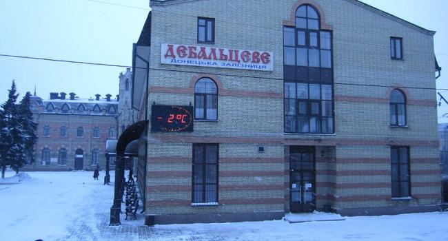 На станции Дебальцево идет переброска техники боевикам