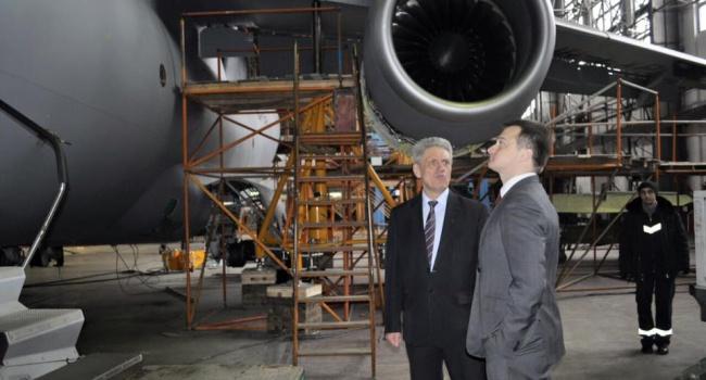 Березенко посетил ГП Антонов и подготовил законопроект для авиапредприятий
