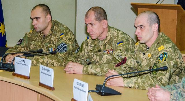 В Днепропетровской ОГА вручали награды и часы добровольцам-героям