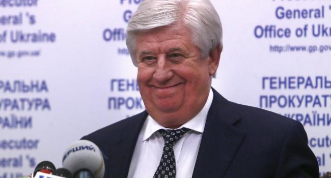 Луценко назвал дату отставки Шокина
