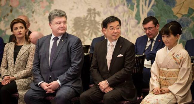 Порошенко: 2017 станет годом Японии в Украине
