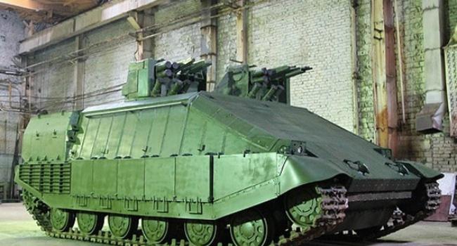 В Украине представили новый «гибридный танк»