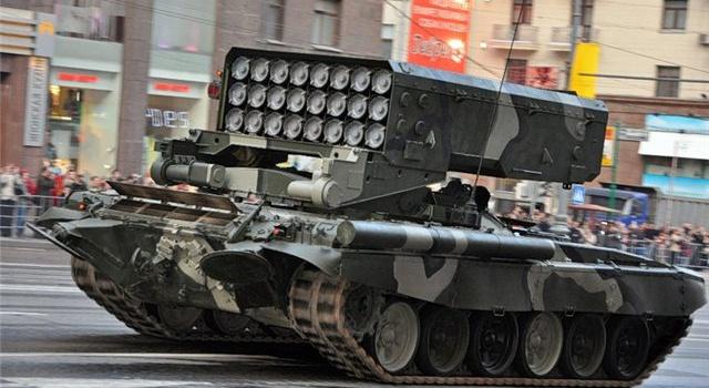 ВС РФ завозят огнеметы «Буратино» и «Грады» в АТО