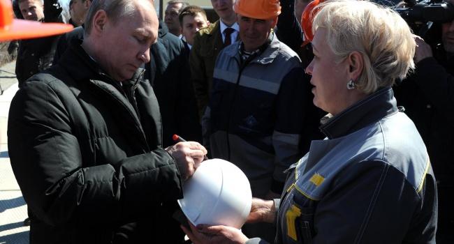 Приезд Путина на «Восточный» вызвал насмешки пользователей
