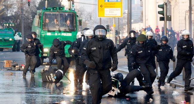 В немецком Штутгарте самые крупные беспорядки за несколько лет