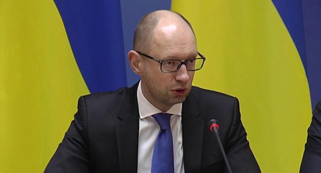 Яценюк поздравил украинцев с праздником