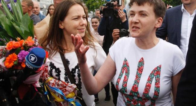 Савченко испугала Порошенко словами ожелании стать президентом