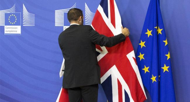 ВВС Великобритания выходит из Евросоюза
