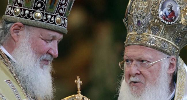 Патриарх Варфоломей отказал Украине: никакой автокефалии, пусть решает Патриарх Кирилл