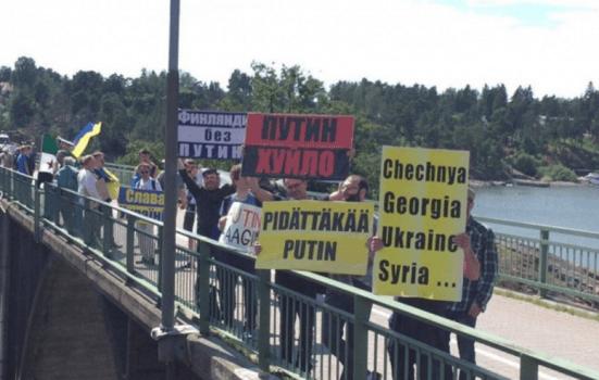 На финской земле Путину оказали «радушный» прием - фото