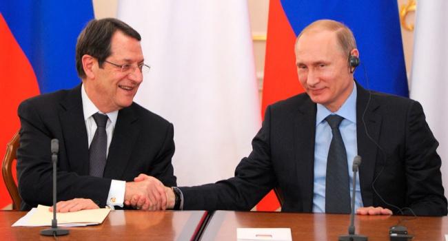 Украина выразила протест из-за резолюции Кипра поснятию санкций с Российской Федерации
