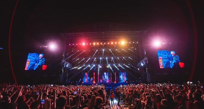 Британская группа Muse вчера выступила в Киеве - фоторепортаж