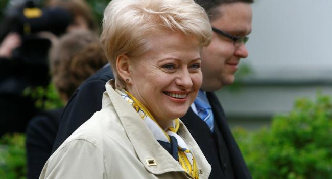 Грибаускайте: Запад несерьезно отнесся к паранойе Путина