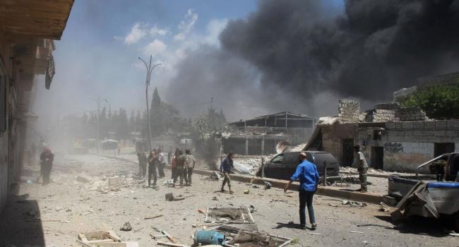 Під час авіаудару в Сирії загинуло 17 мирних людей
